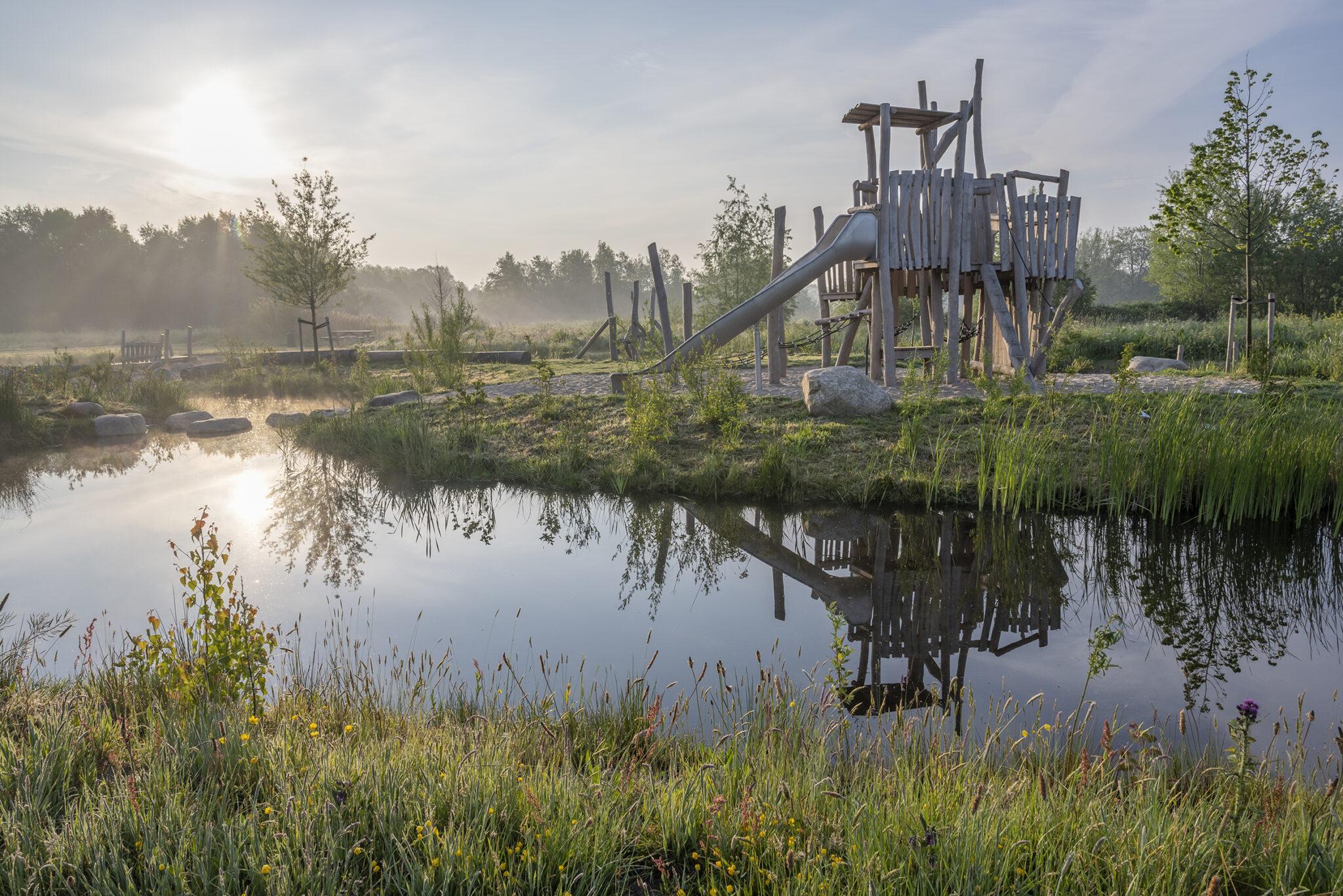 3. Landschappelijk ontwerp recreatiegebied Krimpenerhout_beeld 1, projectenpagina
